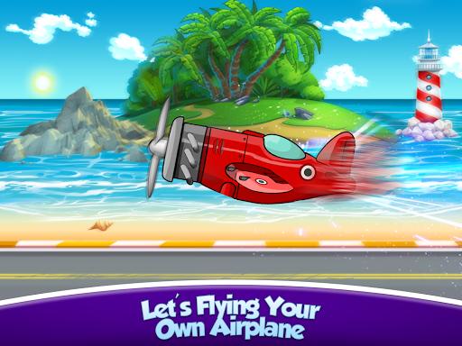 Kids Plane Wash Garage: Kids Plane Games screenshots 15
