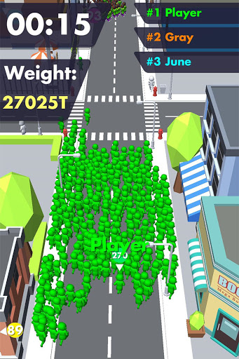 Crowd Buffet - Fun Arcade .io Eating Battle Royale android2mod screenshots 2