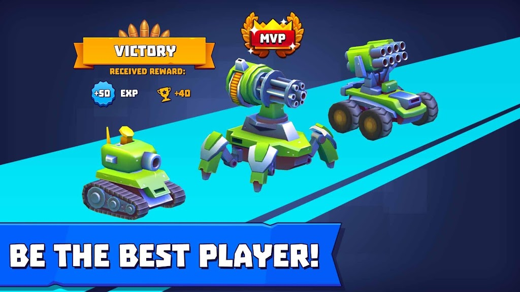 Tanks A Lot! - Realtime Multiplayer Battle Arena  poster 4