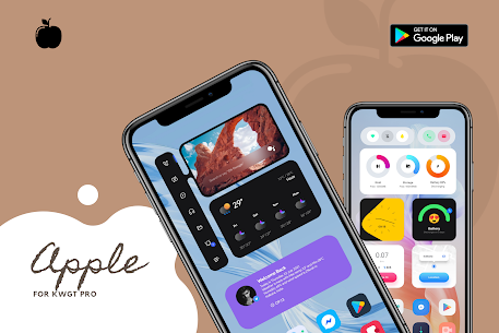 Apple for KWGT APK 2.0 [Paid] Download for Android 2