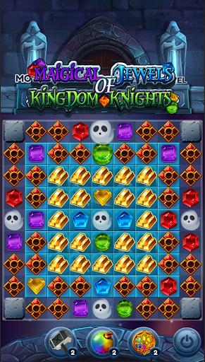 Magical Jewels of Kingdom Knights: Match 3 Puzzle apkdebit screenshots 7