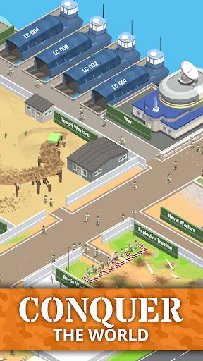 Idle Army Base: Tycoon Game 1.23.0 screenshots 4