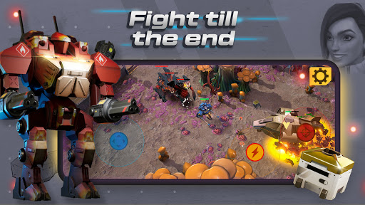 Mech vs Aliens: Top down shooter | RPG  screenshots 4