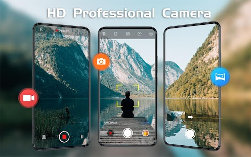 HD Camera - Beauty Cam with Filters & Panorama Screenshot
