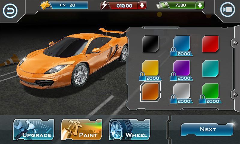 Turbo Driving Racing 3D MOD poster 9