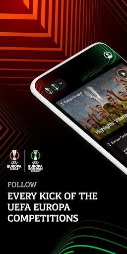 UEFA Europa Official: live football scores & news android2mod screenshots 1