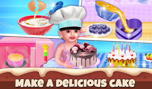 Aadhya Birthday Cake Maker Cooking Game 2.0.2