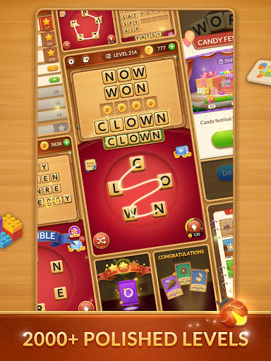 Word Card: Fun Collect Game apkslow screenshots 18