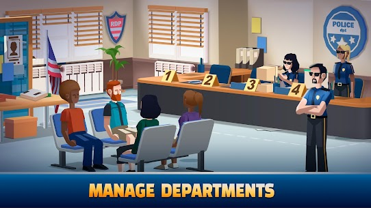 Idle Police Tycoon MOD APK (Unlimited Diamonds) 2