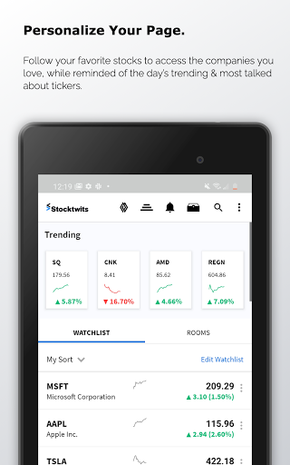 Stocktwits - Stock Market Chat android2mod screenshots 8