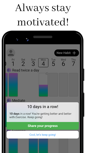 Habit Challenge - Build New Habits & Change Life modavailable screenshots 2