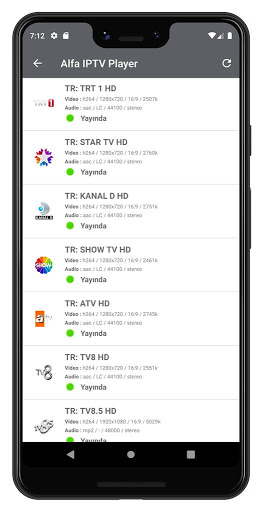 ALFA iPTV Player screenshot 3