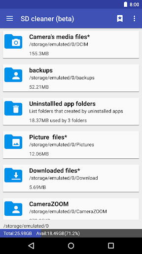 1Tap Cleaner (clear cache, and history log) screenshots 3