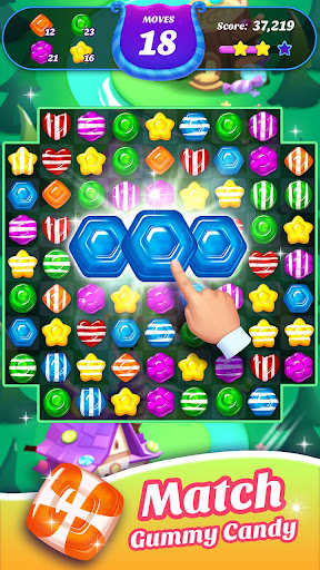 Gummy Candy Blast - Free Match 3 Puzzle Game 1.4.4 screenshots 4
