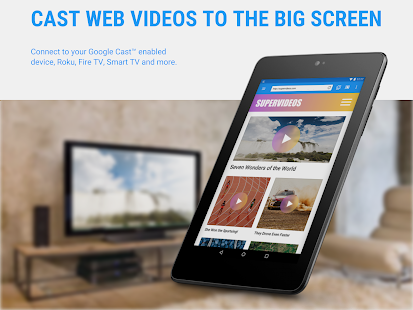 Web Video Cast | Browser zu TV/Chromecast/Roku/+ Screenshot
