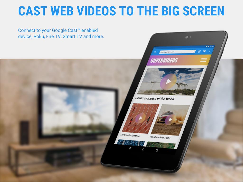 Web Video Cast | Browser to TV/Chromecast/Roku/+  poster 7