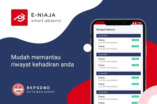 eNiaja Smart Absensi Kota Makassar apktram screenshots 4