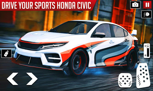 Civic Drifting and Driving Simulator Game  screenshots 5