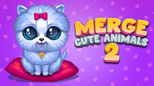Merge Cute Animals 2: Pet merger  screenshots 9