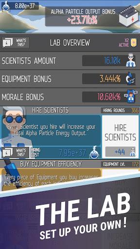 Idle Space Energy Particle Simulator - ISEPS Apkfinish screenshots 3