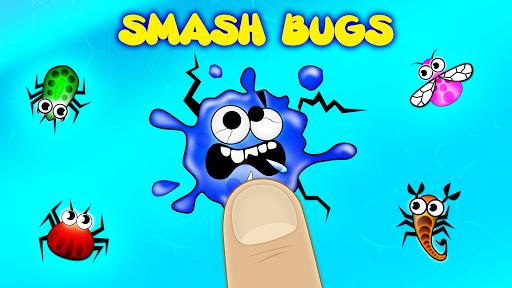 Bug smashing toddler games for 1 2 3 4 5 year olds  screenshots 1