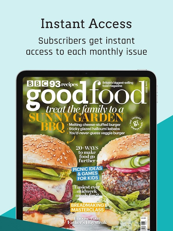 BBC Good Food Magazine - Home Cooking Recipes  poster 15