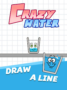 Happy Water - Draw Lines Fill the Glass