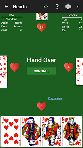 Hearts by NeuralPlay 3.31 screenshots 2