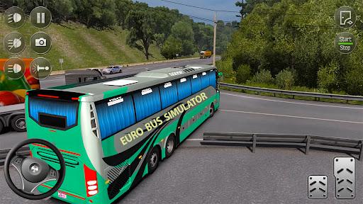 Euro Bus Simulator 2021 : Ultimate Bus Driving  screenshots 4