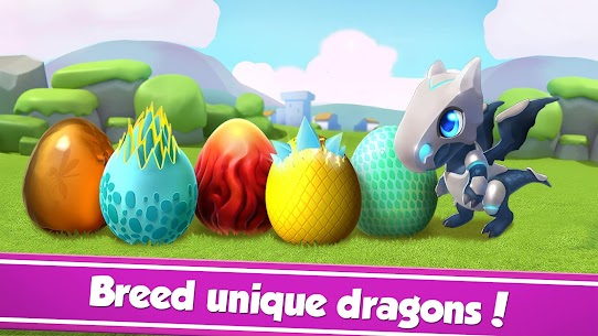 Download Dragon Mania Legends Dragon breeding love game for Android 3