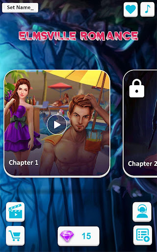 Code Triche Elmsville Romance - Jeux interactifs d'histoire (Astuce) APK MOD screenshots 6