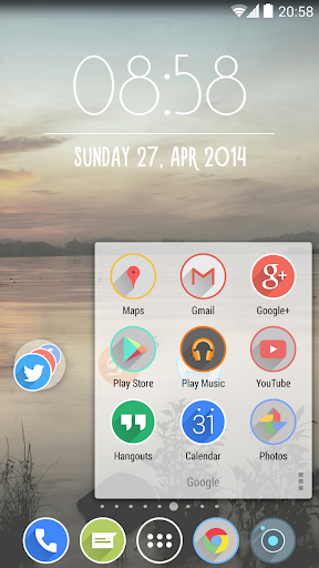 Velur - Icon Pack  screenshots 4