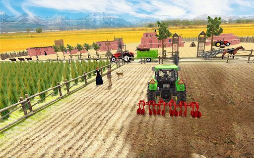 Real Farming Tractor Farm Simulator: Tractor Games screenshots 8