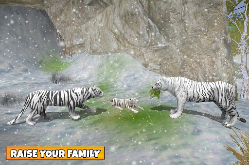 Snow Tiger Family apkmr screenshots 13