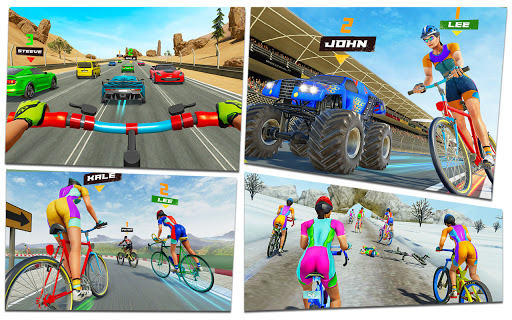 BMX Bicycle Rider - PvP Race: Cycle racing games 1.0.8 screenshots 10