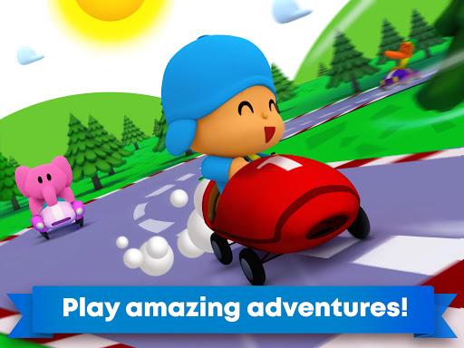 Pocoyo Racing: Kids Car Race - Fast 3D Adventure  screenshots 10