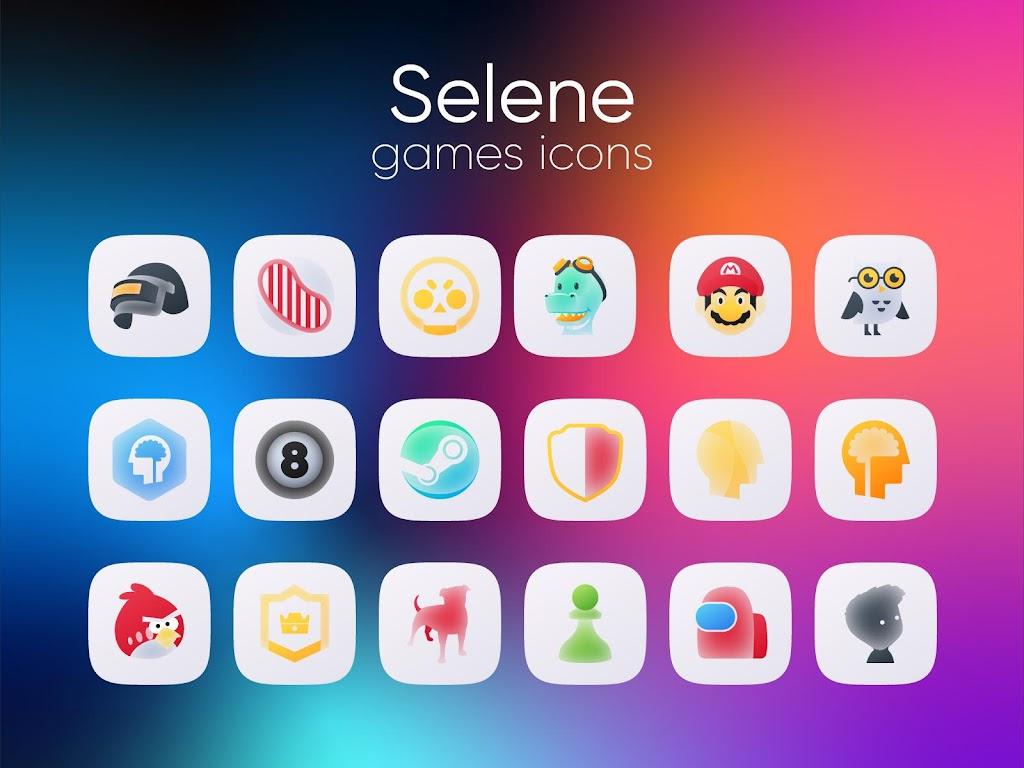 Selene Icon Pack  poster 5