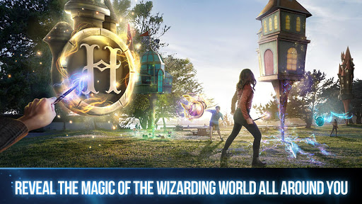 harry potter:  wizards unite screenshot 1
