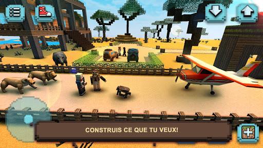 Télécharger Safari Savane : Animaux Carrés APK MOD (Astuce) screenshots 2