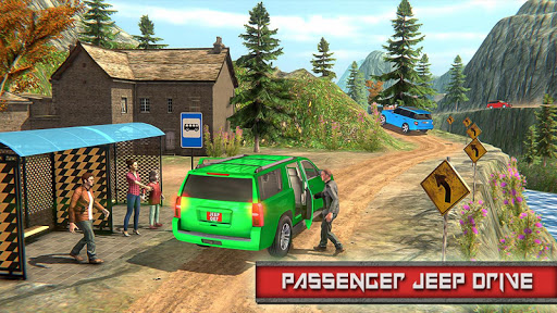 Crazy Taxi Jeep Drive: Jeep Driving Games 2021 android2mod screenshots 10