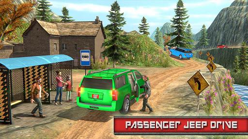 Crazy Taxi Jeep Drive: Jeep Driving Games 2020 apkslow screenshots 10