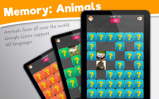 Memory Game: Animals android2mod screenshots 9