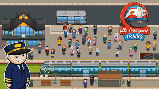 Idle Transport Trains  screenshots 1