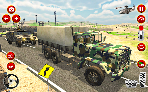 Army Truck Driver transport US Military Games 2021 screenshots 6