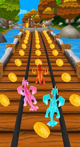 Flying Dragon Run - Dragon World Dino Simulator  screenshots 1