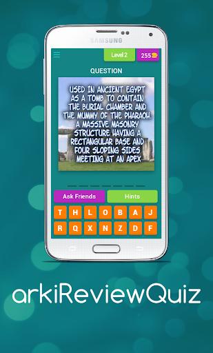 arki review quiz screenshot 3