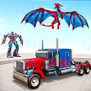 Dragon Robot Car Game – Police Truck Robot Game