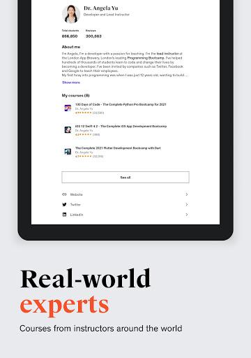Udemy - Online Courses apktram screenshots 14