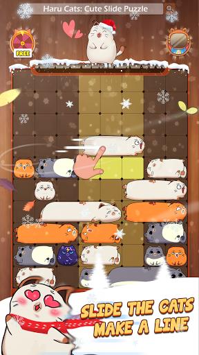 Haru Cats® - Fun Slide Puzzle - Free Flow Zen Game  screenshots 2