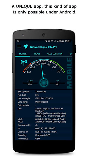 Download APK: Network Signal Info Pro v5.68.02 [Paid]